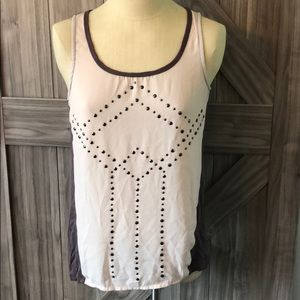 Studio Y tank with detailing